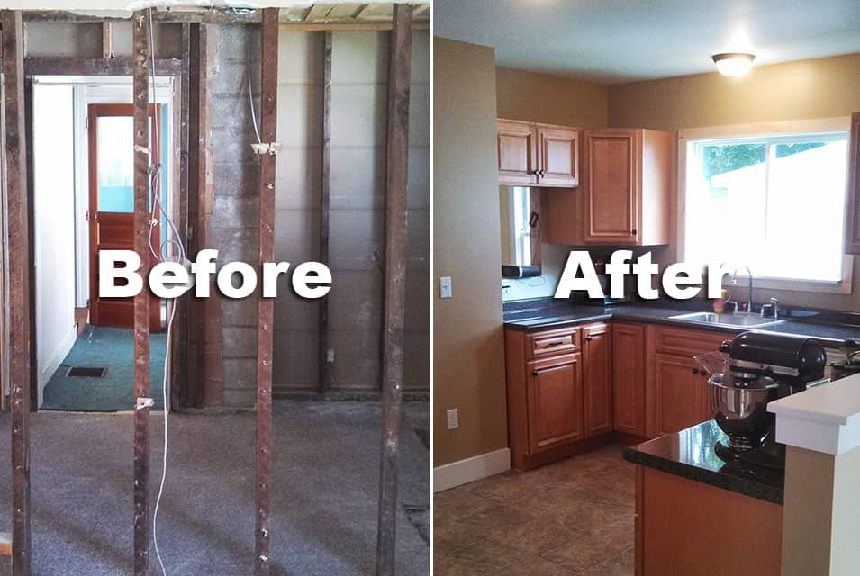 Before After 2 Pro 39 S Construction